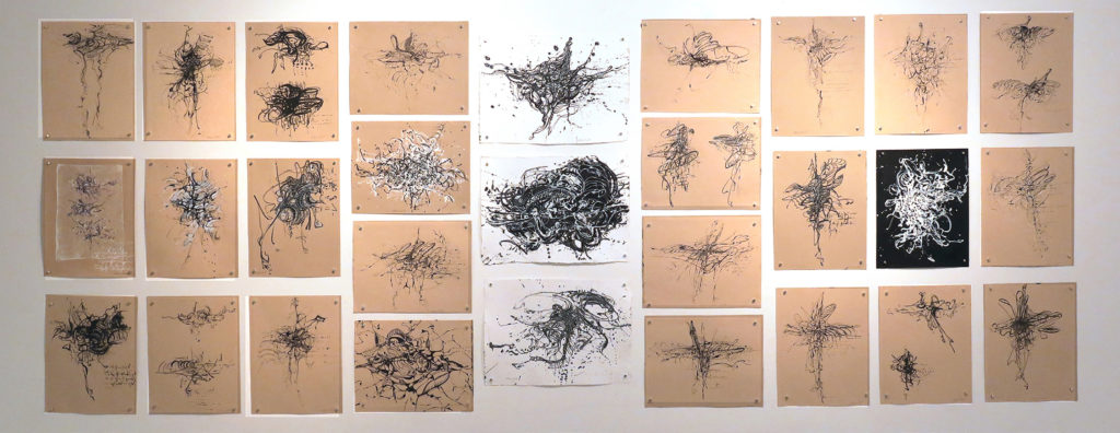 Ink Drawings Grid