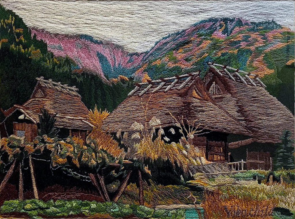 Miyama - Japan needlework on canvas
