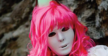 Vernita Nemec masked in Germany