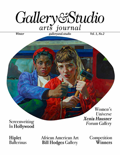 Cover of the winter edition of the magazine