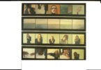 4 film strips with images of people