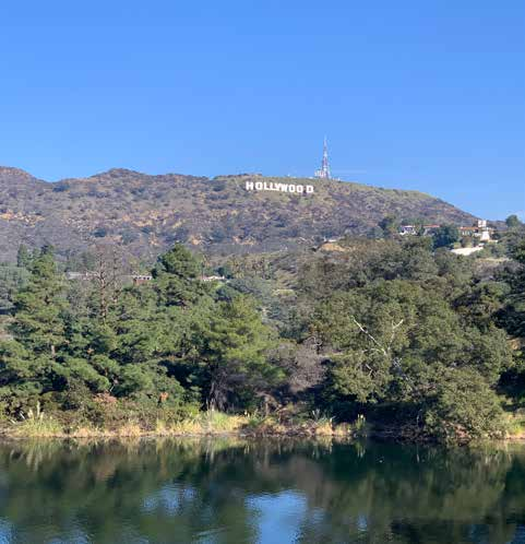 Photo of the Hollywood Reservoir