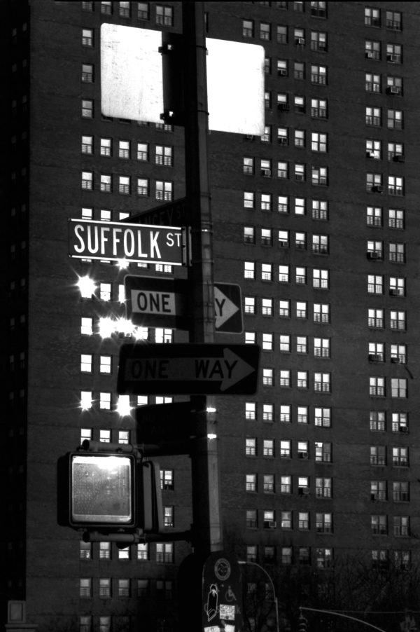 """Street sign that says, """"Suffolk St."""""""