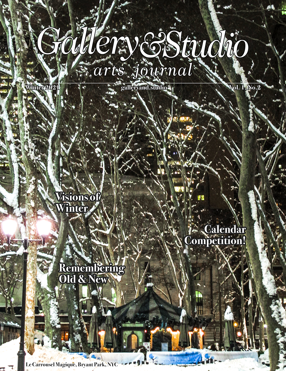 Cover for winter 2021 paper edition