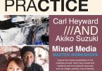 Poster for Push Practice Masterclass Workshops by Carly Heyward and Akiko Suzuki in Mixed Media in May, July and September 2021