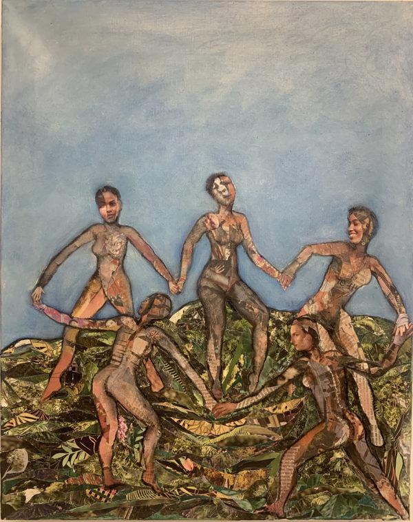 image of 5 people dancing